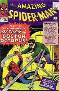 Cover Thumbnail for The Amazing Spider-Man (Marvel, 1963 series) #11 [Regular Edition]