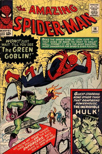 Cover Thumbnail for The Amazing Spider-Man (Marvel, 1963 series) #14 [Regular Edition]