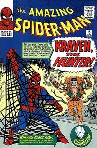Cover Thumbnail for The Amazing Spider-Man (Marvel, 1963 series) #15 [Regular Edition]