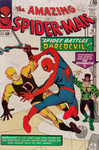 Cover Thumbnail for The Amazing Spider-Man (Marvel, 1963 series) #16 [Regular Edition]