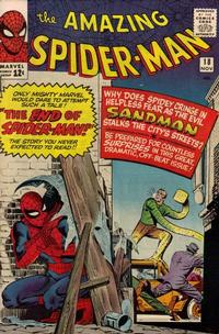 Cover Thumbnail for The Amazing Spider-Man (Marvel, 1963 series) #18