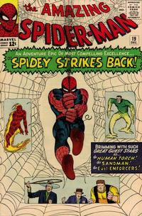Cover Thumbnail for The Amazing Spider-Man (Marvel, 1963 series) #19