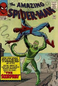 Cover Thumbnail for The Amazing Spider-Man (Marvel, 1963 series) #20