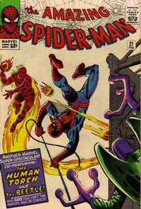 Cover Thumbnail for The Amazing Spider-Man (Marvel, 1963 series) #21