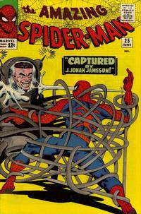 Cover Thumbnail for The Amazing Spider-Man (Marvel, 1963 series) #25