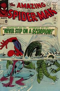 Cover for The Amazing Spider-Man (Marvel, 1963 series) #29 [British]