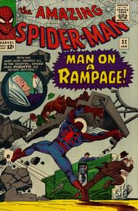 Cover Thumbnail for The Amazing Spider-Man (Marvel, 1963 series) #32 [Regular Edition]