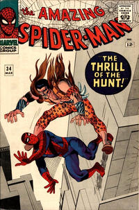 Cover Thumbnail for The Amazing Spider-Man (Marvel, 1963 series) #34 [Regular Edition]