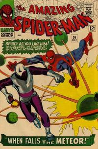 Cover Thumbnail for The Amazing Spider-Man (Marvel, 1963 series) #36 [Regular Edition]