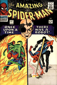 Cover Thumbnail for The Amazing Spider-Man (Marvel, 1963 series) #37 [Regular Edition]
