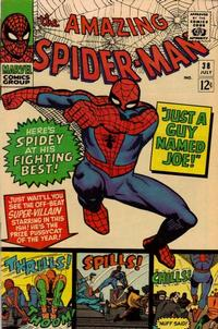 Cover Thumbnail for The Amazing Spider-Man (Marvel, 1963 series) #38 [Regular Edition]