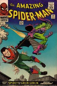 Cover Thumbnail for The Amazing Spider-Man (Marvel, 1963 series) #39 [Regular Edition]