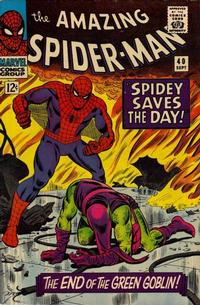 Cover Thumbnail for The Amazing Spider-Man (Marvel, 1963 series) #40 [Regular Edition]