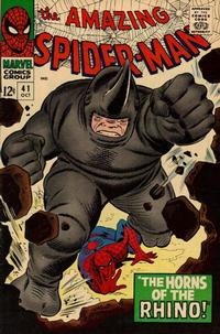 Cover Thumbnail for The Amazing Spider-Man (Marvel, 1963 series) #41 [Regular Edition]