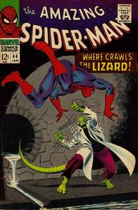 Cover Thumbnail for The Amazing Spider-Man (Marvel, 1963 series) #44 [Regular Edition]