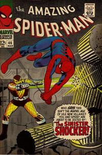 Cover Thumbnail for The Amazing Spider-Man (Marvel, 1963 series) #46 [Regular Edition]