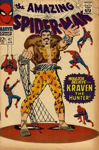 Cover Thumbnail for The Amazing Spider-Man (Marvel, 1963 series) #47 [Regular Edition]