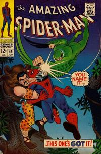Cover Thumbnail for The Amazing Spider-Man (Marvel, 1963 series) #49 [Regular Edition]