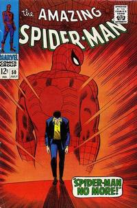 Cover Thumbnail for The Amazing Spider-Man (Marvel, 1963 series) #50 [Regular Edition]