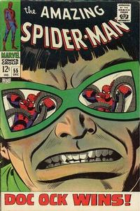 Cover Thumbnail for The Amazing Spider-Man (Marvel, 1963 series) #55