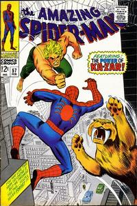 Cover Thumbnail for The Amazing Spider-Man (Marvel, 1963 series) #57