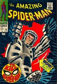 Cover Thumbnail for The Amazing Spider-Man (Marvel, 1963 series) #58