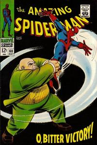 Cover Thumbnail for The Amazing Spider-Man (Marvel, 1963 series) #60