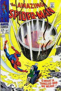 Cover Thumbnail for The Amazing Spider-Man (Marvel, 1963 series) #61