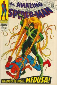 Cover Thumbnail for The Amazing Spider-Man (Marvel, 1963 series) #62