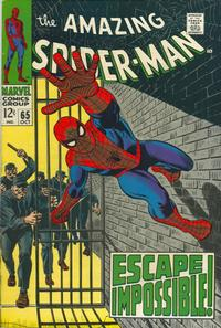 Cover Thumbnail for The Amazing Spider-Man (Marvel, 1963 series) #65