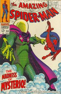 Cover Thumbnail for The Amazing Spider-Man (Marvel, 1963 series) #66