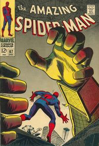 Cover Thumbnail for The Amazing Spider-Man (Marvel, 1963 series) #67