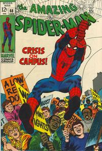 Cover Thumbnail for The Amazing Spider-Man (Marvel, 1963 series) #68