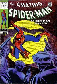 Cover Thumbnail for The Amazing Spider-Man (Marvel, 1963 series) #70