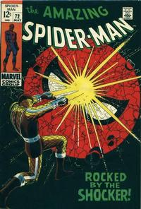 Cover Thumbnail for The Amazing Spider-Man (Marvel, 1963 series) #72 [Regular Edition]