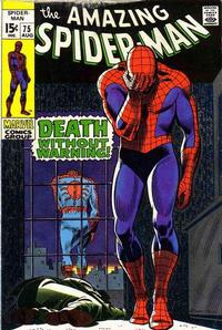 Cover Thumbnail for The Amazing Spider-Man (Marvel, 1963 series) #75 [Regular Edition]