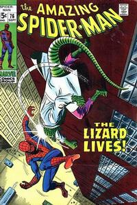 Cover Thumbnail for The Amazing Spider-Man (Marvel, 1963 series) #76 [Regular Edition]