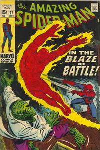 Cover Thumbnail for The Amazing Spider-Man (Marvel, 1963 series) #77 [Regular Edition]