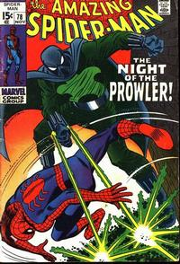 Cover Thumbnail for The Amazing Spider-Man (Marvel, 1963 series) #78 [Regular Edition]