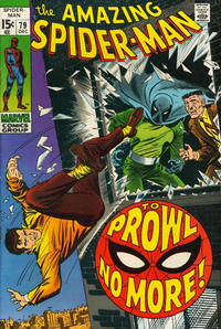Cover Thumbnail for The Amazing Spider-Man (Marvel, 1963 series) #79 [Regular Edition]