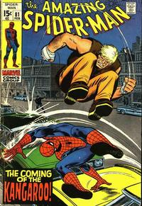 Cover Thumbnail for The Amazing Spider-Man (Marvel, 1963 series) #81 [Regular Edition]
