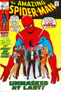 Cover Thumbnail for The Amazing Spider-Man (Marvel, 1963 series) #87 [Regular Edition]