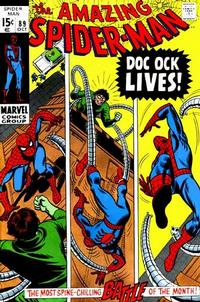 Cover Thumbnail for The Amazing Spider-Man (Marvel, 1963 series) #89 [Regular Edition]