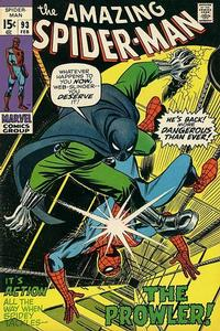 Cover Thumbnail for The Amazing Spider-Man (Marvel, 1963 series) #93 [Regular Edition]