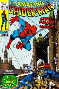 Cover Thumbnail for The Amazing Spider-Man (Marvel, 1963 series) #95 [Regular Edition]