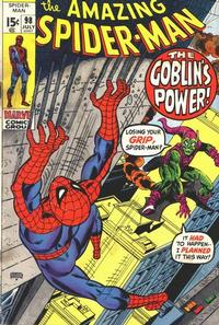 Cover Thumbnail for The Amazing Spider-Man (Marvel, 1963 series) #98 [Regular Edition]