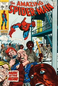 Cover Thumbnail for The Amazing Spider-Man (Marvel, 1963 series) #99 [Regular Edition]