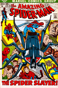 Cover Thumbnail for The Amazing Spider-Man (Marvel, 1963 series) #105 [Regular Edition]