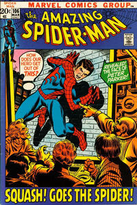 Cover Thumbnail for The Amazing Spider-Man (Marvel, 1963 series) #106 [Regular Edition]