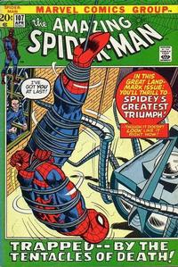 Cover Thumbnail for The Amazing Spider-Man (Marvel, 1963 series) #107 [Regular Edition]